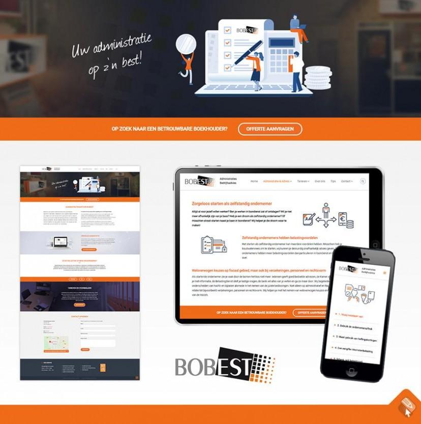 Website voor Administratiekantoor in Apeldoorn